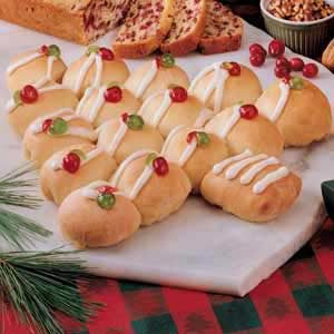 Holiday Tree Bread Recipe