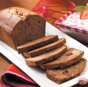 Strawberry Nut Bread Recipe