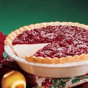 Cranberry Dream Pie Recipe