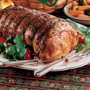 Herbed Rib Roast Recipe