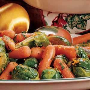 Citrus Carrots and Sprouts Recipe
