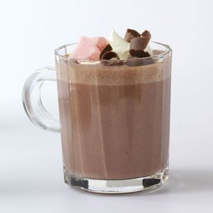 Raspberry Hot Cocoa