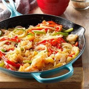 Pineapple Shrimp Stir-Fry Recipe photo by Taste of Home