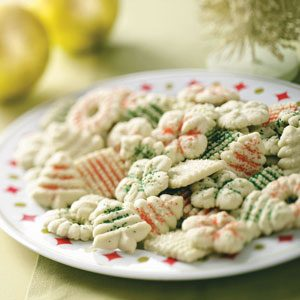 Lime Spritz Cookies Recipe