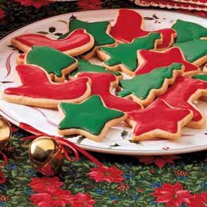 Frosted Spice Cutouts Recipe