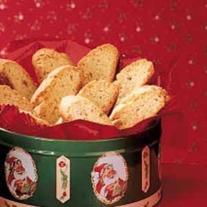 Cardamom Almond Biscotti Recipe