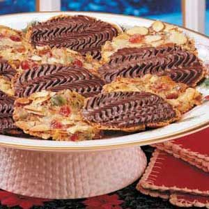 Chocolate Fruit N Nut Cookies Recipe