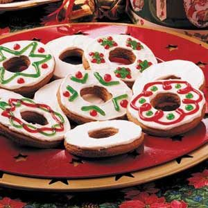 Gingerbread Rings Recipe