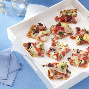 Antipasto Basilico Pizza Recipe
