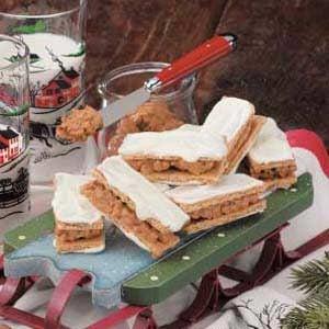 Nutty Sandwich Treats Recipe
