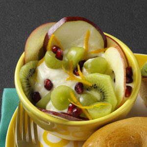 Yogurt & Honey Fruit Cups Recipe