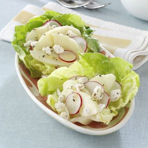 Goat Cheese Lettuce Cups Recipe