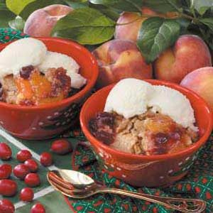 Holiday Cranberry Cobbler
