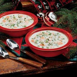 Creamy Turkey Soup Recipe