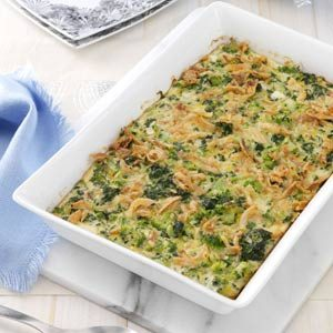 Supreme Green Vegetable Bake Recipe