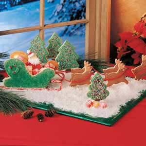 Sugar Cookie Sleigh Recipe