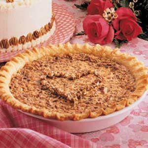 Hickory Nut Pie Recipe