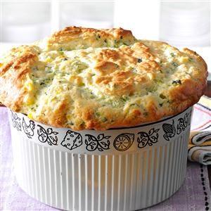 Zucchini & Sweet Corn Souffle Recipe