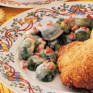 Saucy Brussels Sprouts Recipe