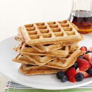 Soul-Satisfying Oatmeal Waffles Recipe