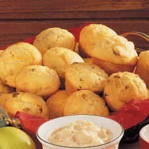 Eggnog Muffins Recipe