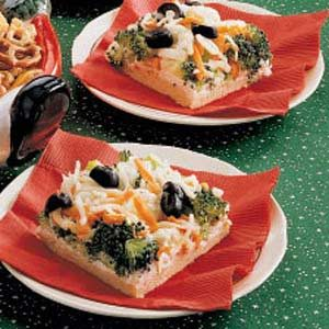 Veggie Party Pizza Recipe