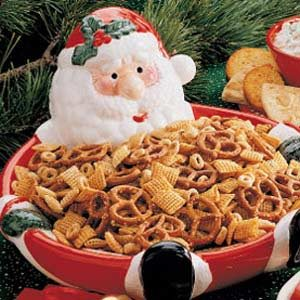 Seasoned Snack Mix Recipe