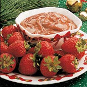 Fudgy Fruit Dip
