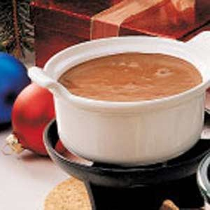 Chocolate Mallow Fondue Recipe