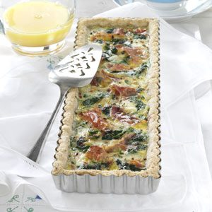 Brie and Prosciutto Tart Recipe