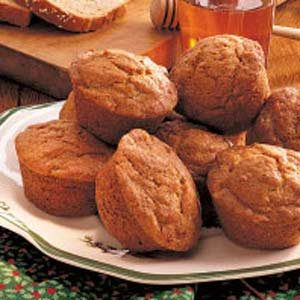 Banana Wheat Muffins Recipe