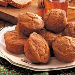 Banana Wheat Muffins Recipe