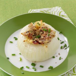 Bacon-Gouda Stuffed Onions Recipe