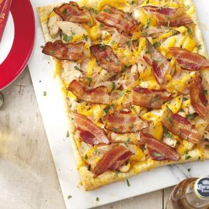 Chicken & Bacon Tart Recipe