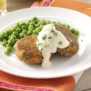 Tuna Cakes with Mustard Mayo Recipe