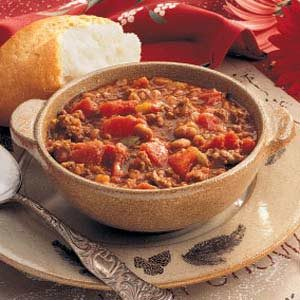 Elk Meat Chili