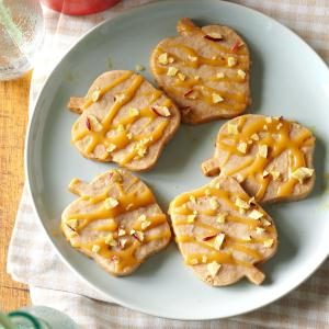 Caramel-Apple Shortbread Cookies Recipe