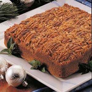 Upside-Down German Chocolate Cake Recipe