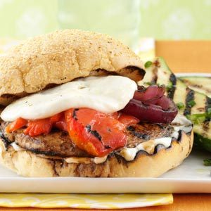 Grilled Portobello Burgers Recipe