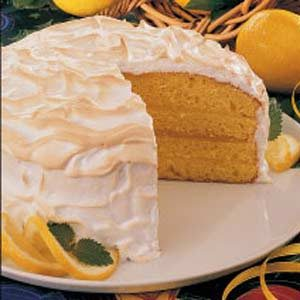 Lemon Meringue Cake Recipe