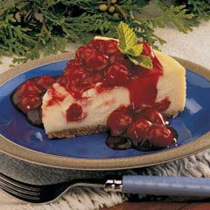Cherry Almond Cheesecake Recipe