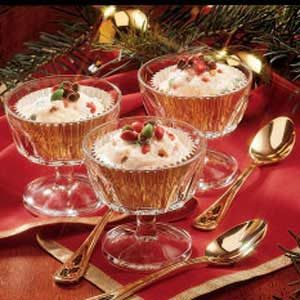Noel Ice Cream Cups Recipe
