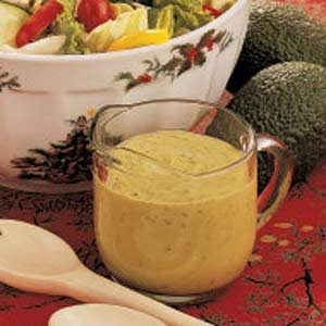 Lemon Avocado Salad Dressing Recipe