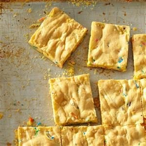 Easy Cake Mix Bars Recipe