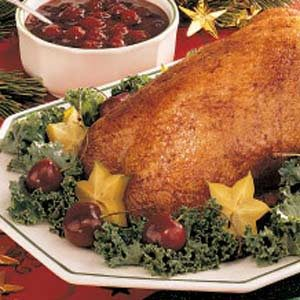 Duck with Cherry Sauce Recipe