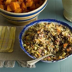 Northwoods Wild Rice Salad Recipe
