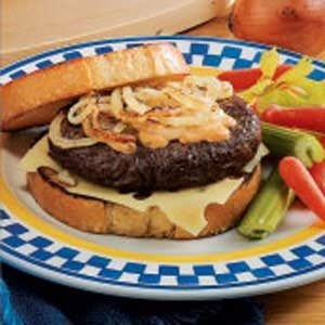 Sourdough Cheeseburgers Recipe