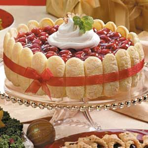 Cherry Cream Torte Recipe