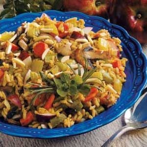Patchwork Rice Pilaf Recipe