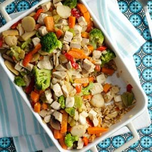 Chicken Stir-Fry Bake Recipe